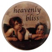 Heavenly Bliss - Button Badge